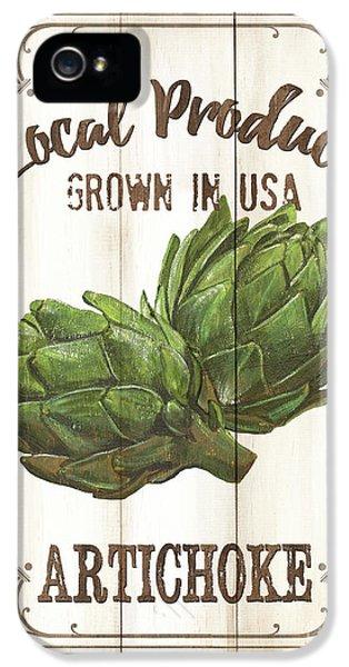 Vintage Fresh Vegetables 2 IPhone 5s Case by Debbie DeWitt