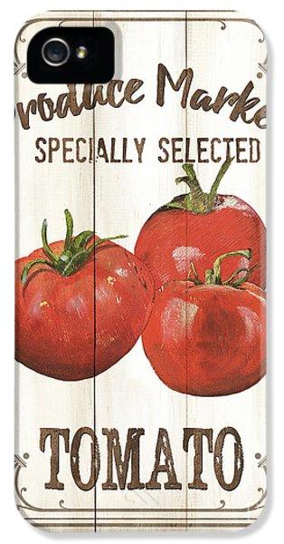 Vintage Fresh Vegetables 4 IPhone 5s Case