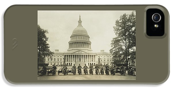 Vintage Motorcycle Police - Washington Dc  IPhone 5s Case