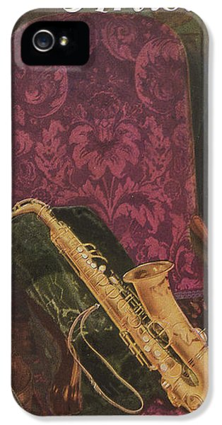 Vintage Poster IPhone 5s Case