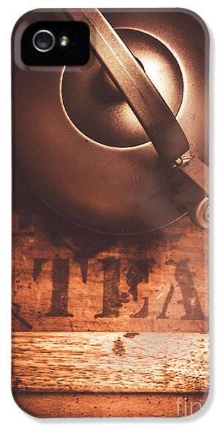 Kettles iPhone 5s Case - Vintage Tea Break by Jorgo Photography - Wall Art Gallery
