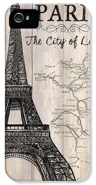 Vintage Travel Poster Paris IPhone 5s Case