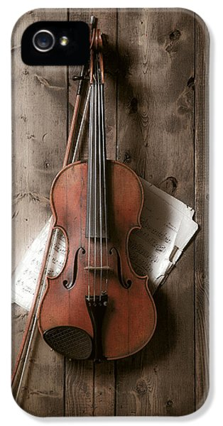 Music iPhone 5s Case - Violin by Garry Gay