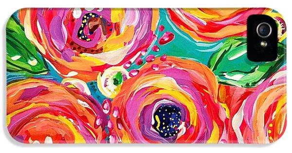 Bright iPhone 5s Case - Vivid Flora by DAKRI Sinclair