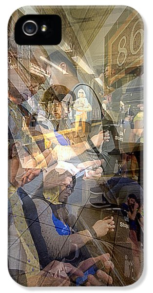 Waiting For 6 Train Collage IPhone 5s Case
