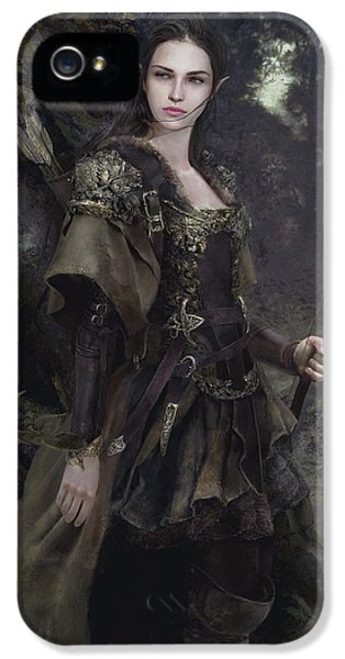 Waldelfe IPhone 5s Case by Eve Ventrue