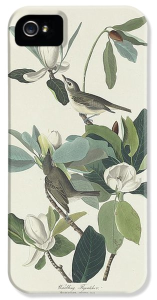 Flycatcher iPhone 5s Case - Warbling Flycatcher by Dreyer Wildlife Print Collections