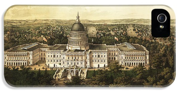 Washington City 1857 IPhone 5s Case by Jon Neidert