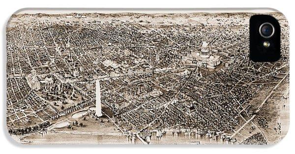 Washington D.c., 1892 IPhone 5s Case