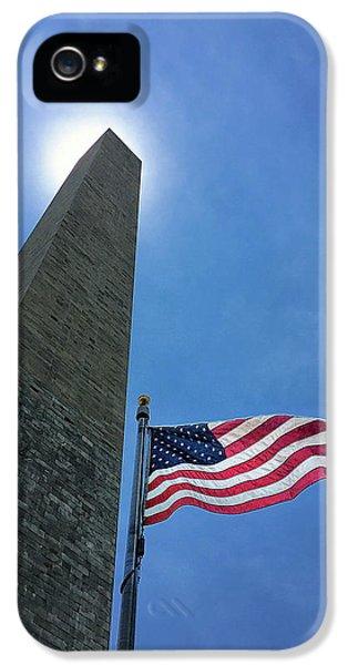Washington Monument IPhone 5s Case by Andrew Soundarajan