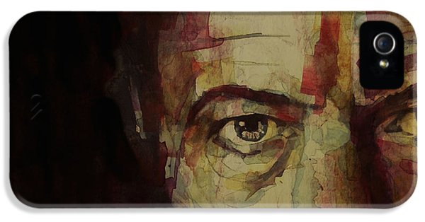 Musicians iPhone 5s Case - Watch That Man Bowie by Paul Lovering