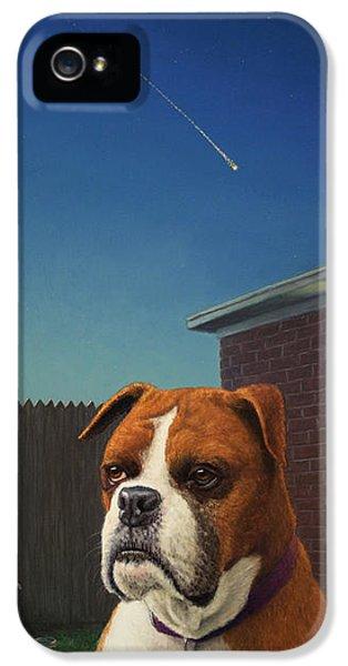 Clock iPhone 5s Case - Watchdog by James W Johnson
