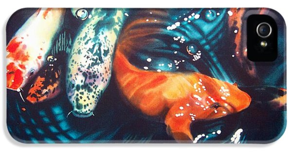 Koi iPhone 5s Case - Water Ballet by Denny Bond