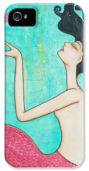 Water Nymph IPhone 5s Case by Natalie Briney
