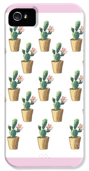 Watercolor Cactus IPhone 5s Case by Roam  Images
