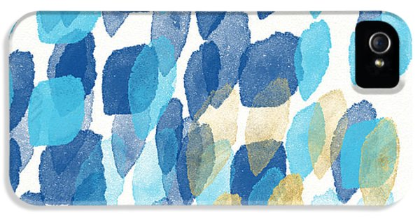 Beach iPhone 5s Case - Waterfall- Abstract Art By Linda Woods by Linda Woods