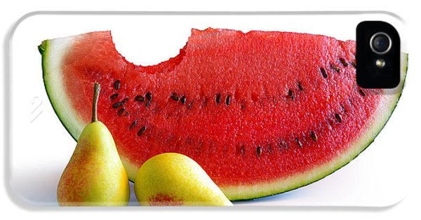 Watermelon And Pears IPhone 5s Case by Carlos Caetano
