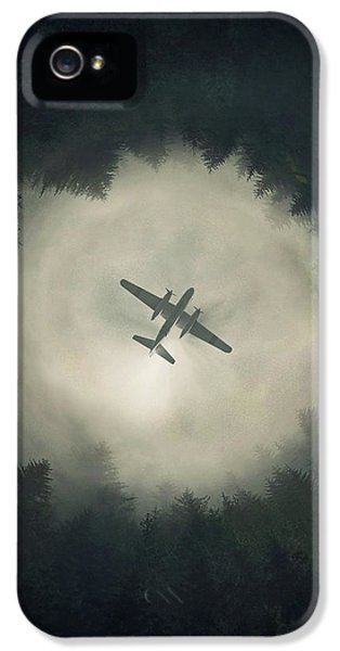 Airplane iPhone 5s Case - Way Out by Zoltan Toth