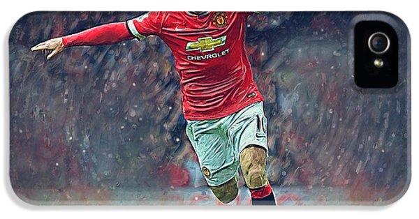 Wayne Rooney IPhone 5s Case by Semih Yurdabak