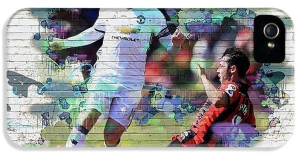 Wayne Rooney Street Art IPhone 5s Case by Don Kuing