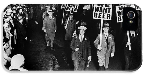 Beer iPhone 5s Case - We Want Beer by Jon Neidert