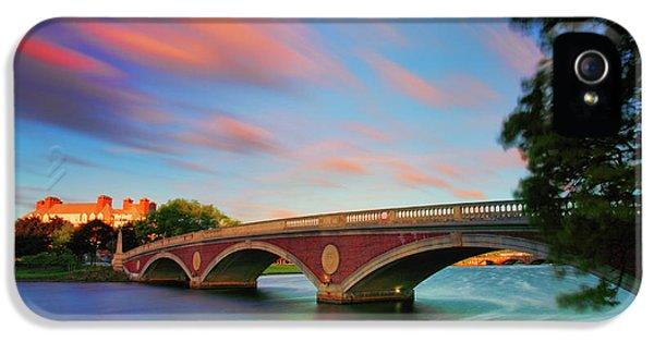 Harvard iPhone 5s Case - Weeks' Bridge by Rick Berk