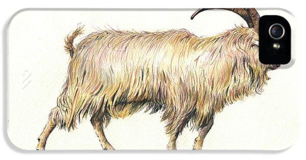 Welsh Long Hair Mountain Goat IPhone 5s Case