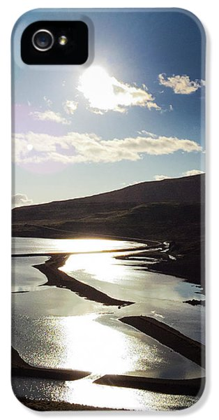 Sunny iPhone 5s Case - West Fjords Iceland Europe by Matthias Hauser