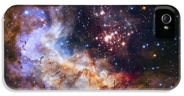 Westerlund 2 - Hubble 25th Anniversary Image IPhone 5s Case by Adam Romanowicz