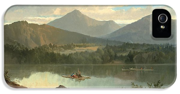 Mountain iPhone 5s Case - Western Landscape by John Mix Stanley