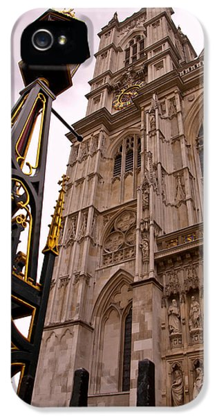 Westminster Abbey iPhone 5s Case - Westminster Abbey London England by Jon Berghoff