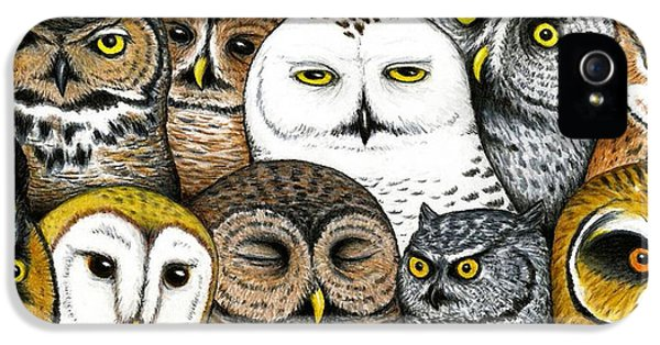 Owl iPhone 5s Case - Who's Hoo by Don McMahon