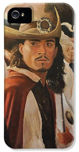 Will Turner IPhone 5s Case by Caleb Thomas