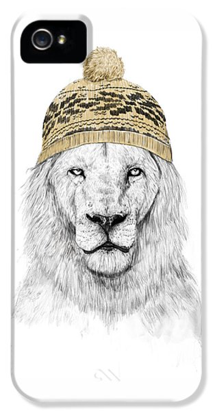 Lion iPhone 5s Case - Winter Is Coming by Balazs Solti