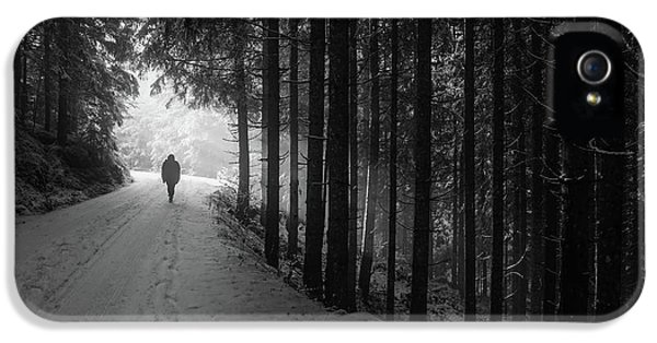Winter Walk - Austria IPhone 5s Case by Mountain Dreams