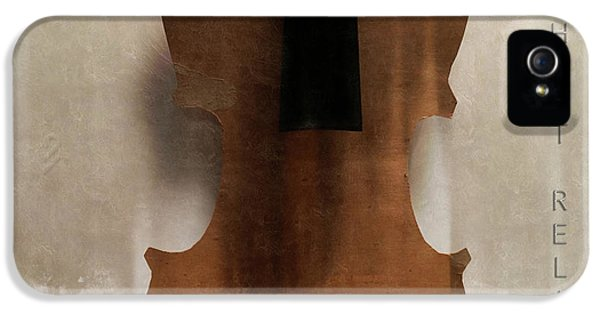 Violin iPhone 5s Case - Without Relish  by Steven Digman