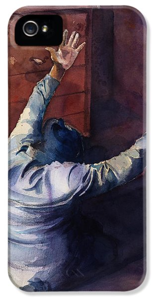 Figurative iPhone 5s Case - Woman Of Praise by Lewis Bowman