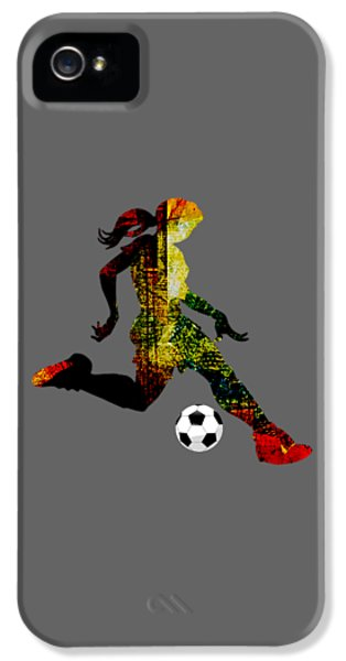 Womens Soccer Collection IPhone 5s Case