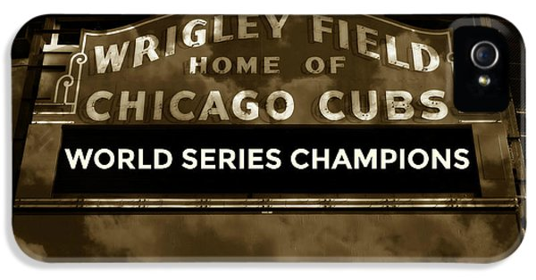 Wrigley Field Sign - Vintage IPhone 5s Case