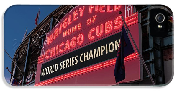 Wrigley Field World Series Marquee IPhone 5s Case