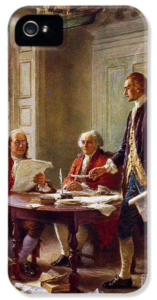 Writing The Declaration Of Independence, 1776, IPhone 5s Case