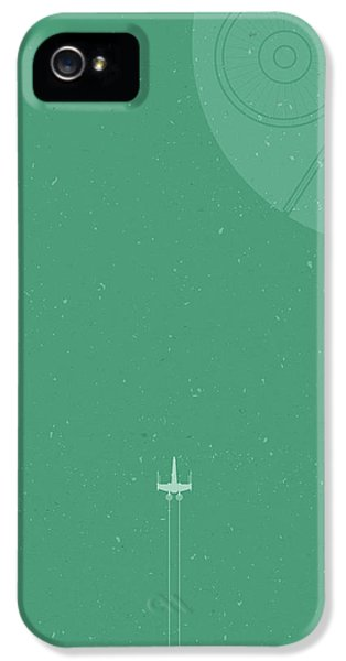 X-wing Meets Death Star IPhone 5s Case