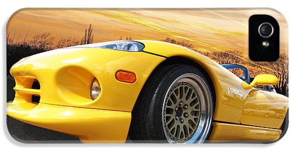 Yellow Viper Rt10 IPhone 5s Case by Gill Billington