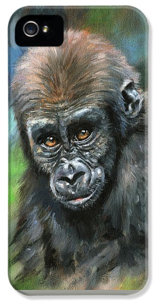 Young Gorilla IPhone 5s Case