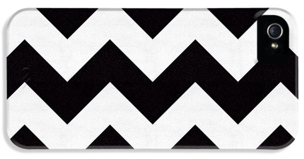 Pattern iPhone 5s Case - Zig Zag Pattern by Chuck Staley