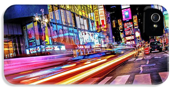 Times Square iPhone 5s Case - Zip by Az Jackson