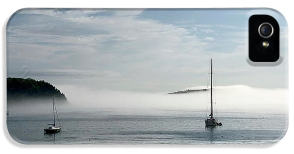 Dick Goodman iPhone 5s Case - Morning Mist On Frenchman's Bay by Dick Goodman