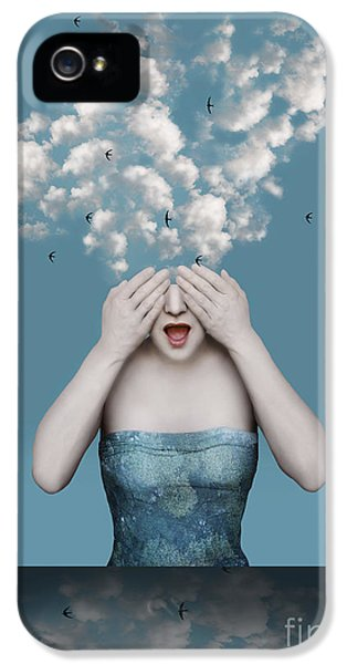 Armed iPhone 5s Case - Beautiful Surreal Image With A Girl Who by Valentina Photos