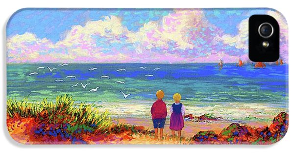Figurative iPhone 5s Case - Children Of The Sea by Jane Small
