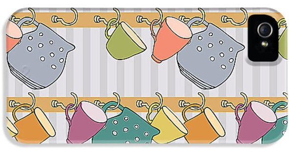 Kettles iPhone 5s Case - Cup Background by Nenilkime